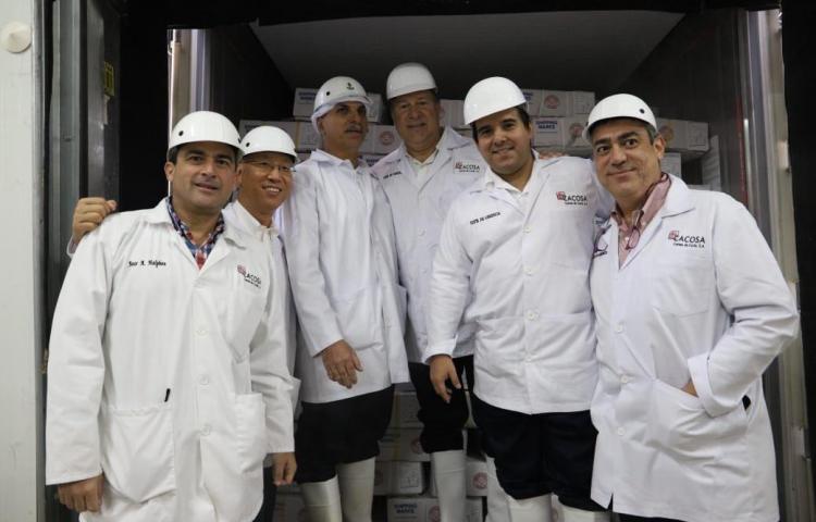 Panamá inicia la exportación de carne a China con envío de 200 toneladas