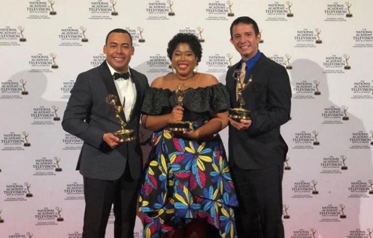 Dos panas reciben Emmy por Afrolatinos