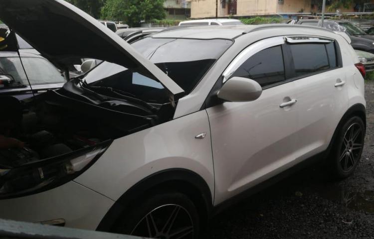 Autoridades logran recuperar vehículos robados