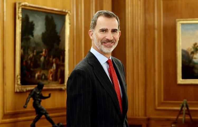 Felipe VI viaja por primera vez a Panamá como rey para el relevo presidencial