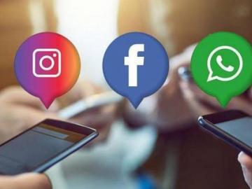 Se reporta caída de WhatsApp, Facebook e Instagram