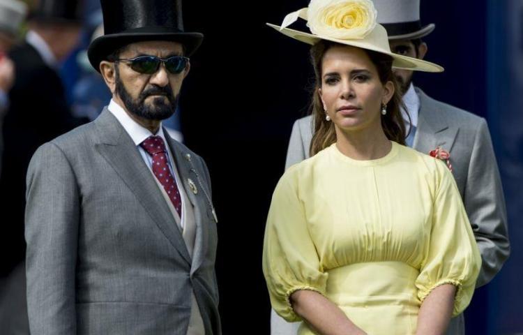 Princesa Haya huye de su esposo, el jeque de Dubai, y se refugia en Londres
