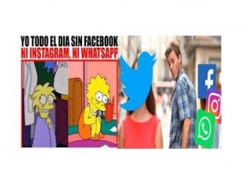 Los memes sobre la caída de Instagram, Facebook y WhatssApp de este miércoles
