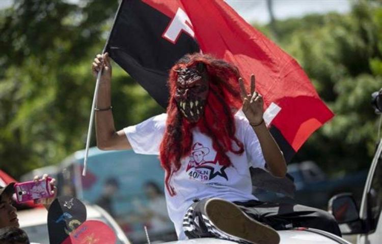 Ortega encabeza la fiesta sandinista del 'repliegue'