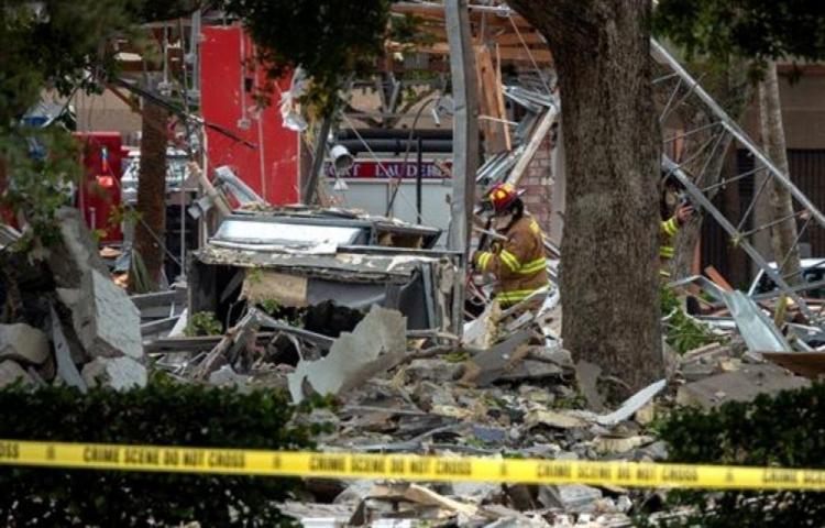 Veintiún heridos en explosión en centro comercial de Miami
