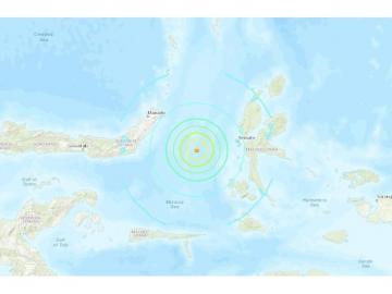 Alerta de tsunami en Indonesia tras un terremoto de 7.1 grados