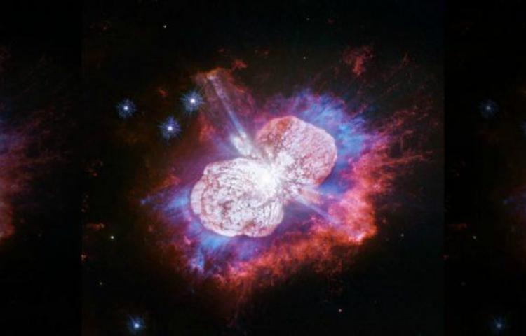 Telescopio Hubble captura fuegos artificiales estelares más grande de la galaxia
