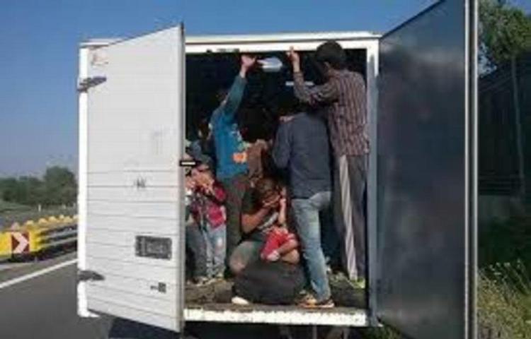 Metieron a 228 migrantes en un tráiler en México
