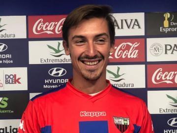 Jugará en el Extremadura