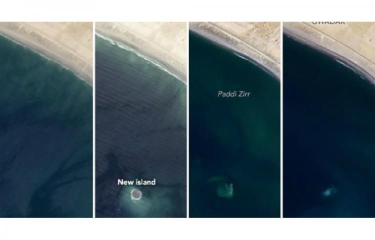 Zalzala Koh, la misteriosa isla que fue 'tragada' por el océano