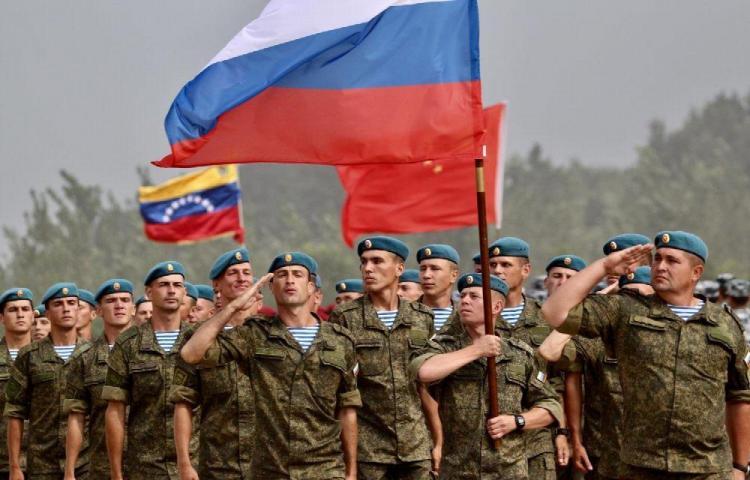 Tropas rusas siguen en Venezuela