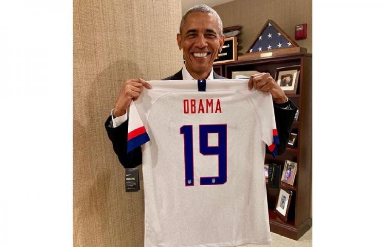 Obama, orgulloso dela selección femenina de EE.UU.