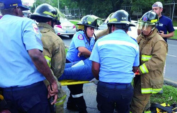 Funcionarios de Ministerio Público se accidentan en La Espiga de La Chorrera