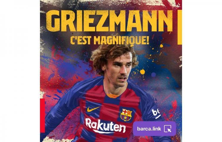 El Barcelona hace oficial el fichaje de Griezmann por 5 temporadas