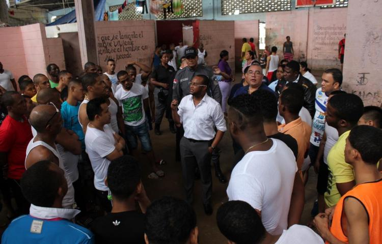 Realizan recorrido en cárcelNueva Esperanza de Colón