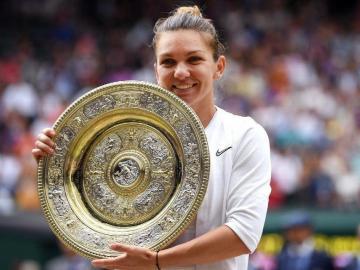 Halep conquistó Wimbledon