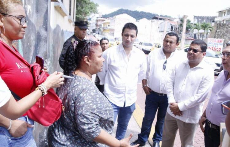 Recorren San Felipe para brindar solución habitacional