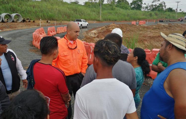 Autoridades inspeccionan alcantarillado tras inundaciones enChilibre
