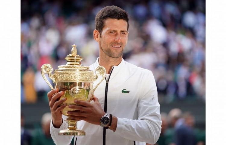Wimbledon a sus pies