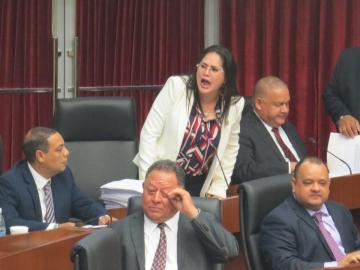Zulay entregó 25 mil firmas a favor de la reforma migratoria