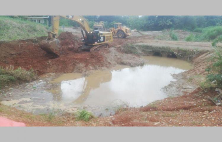 Quieren evitar inundaciones con limpieza de drenaje