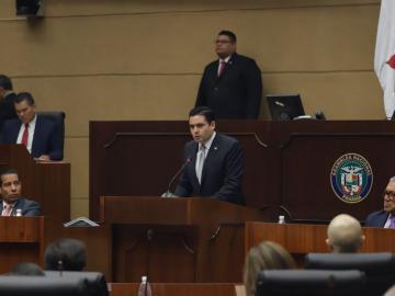 Carrizo presenta ante el pleno de la AN propuesta de reformas constitucionales