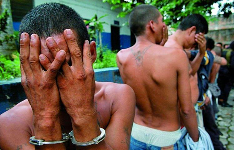 Condenan a 9 pandilleros del Pentágono a 8 años