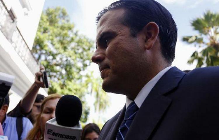Rosselló dice que protesta en P.Rico para que dimita no le pasó desapercibida