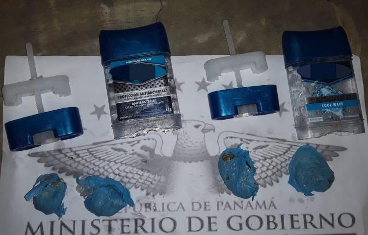 Tratan de introducir desodorantes con droga a La Nueva Joya