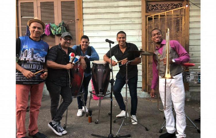 Grupo musical panameño participa en 'La casa de papel'