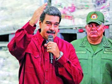 Más sanciones para la cúpula del dictador Maduro