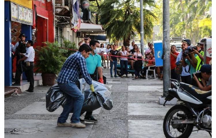 Cinco mueren en ataque a un bar en Acapulco