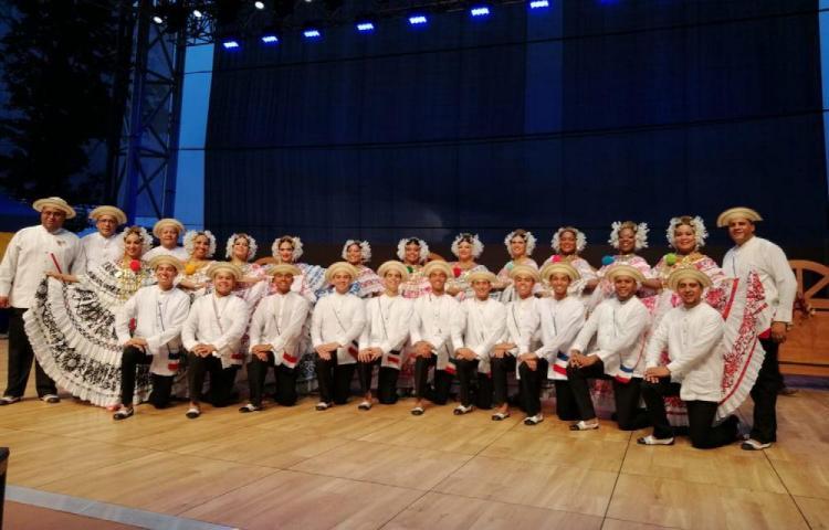Primer lugar en baile folclórico en Polonia