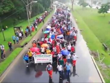 Siguen las protestas de los trabajadores de Panama Ports