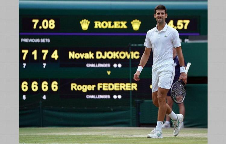 Novak Djokovic permanece al frente del ATP ranking mundial.