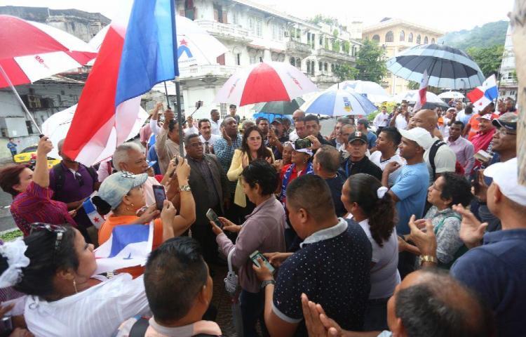 Panameños presionan para que exista control migratorio