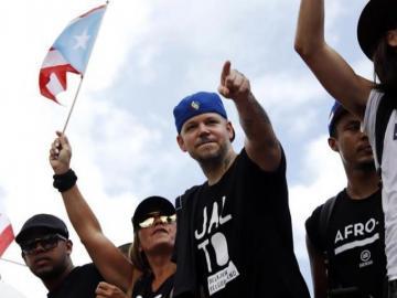 Artistas puertorriqueños reaccionan satisfechos a la dimisión de Rosselló