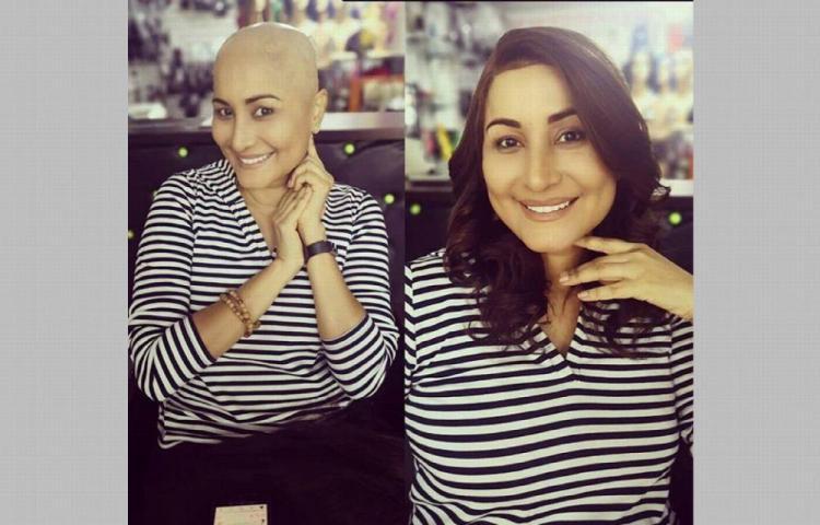 Marisela se rapa la cabeza y opta por peluca