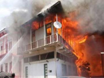 Bomberos registran 837 incendios estructurales