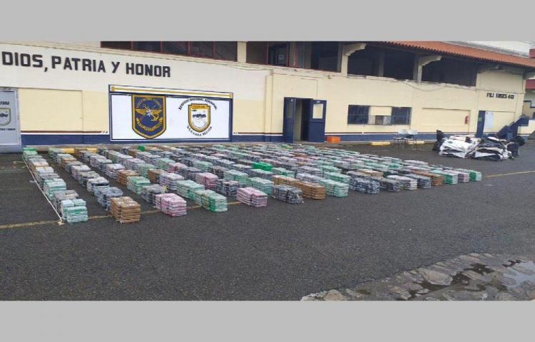 Nuevo golpe al narcotráfico: decomisan 3 toneladas de cocaína en La Chorrera