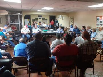 Se reunieron con productores en Chiriquí para levantar el agro