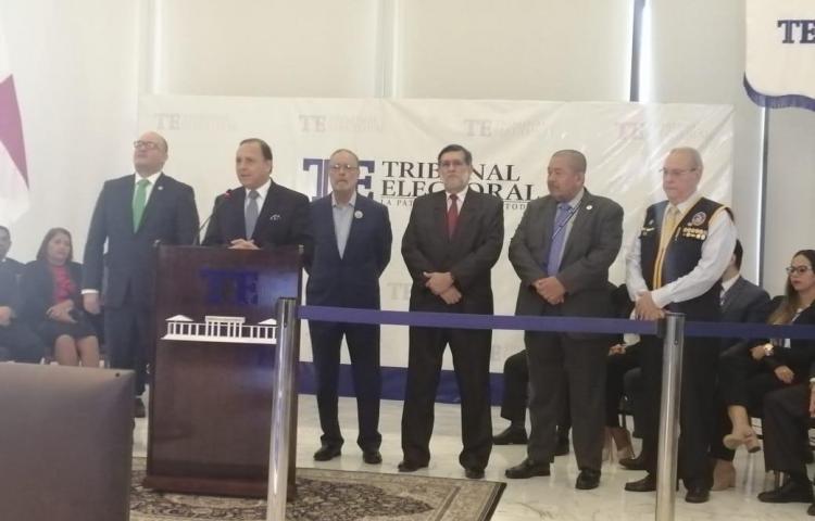 TE presenta informe de las Elecciones Generales de 2019