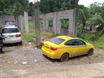 Hombre hallado ejecutado en Colón era palanca de taxi