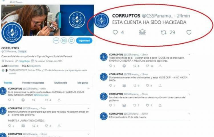 'Hackearon' la cuenta de Twitter de la CSS