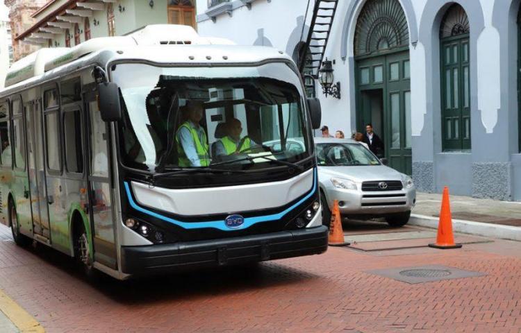 Se formó un lío con el recorrido del bus eléctrico