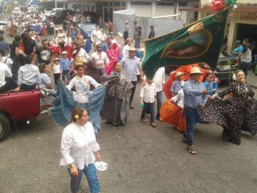 Bugaba se viste de fiesta y celebra su fundación