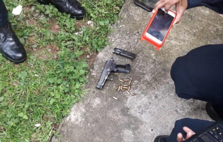 Policía se salvó de a milagro: sufrió rozón de bala en la cabeza