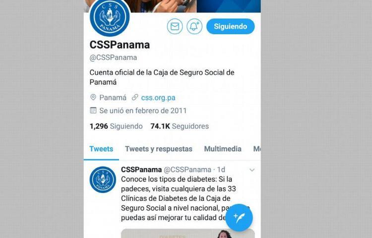 La CSS recuperó control de su red social Twitter