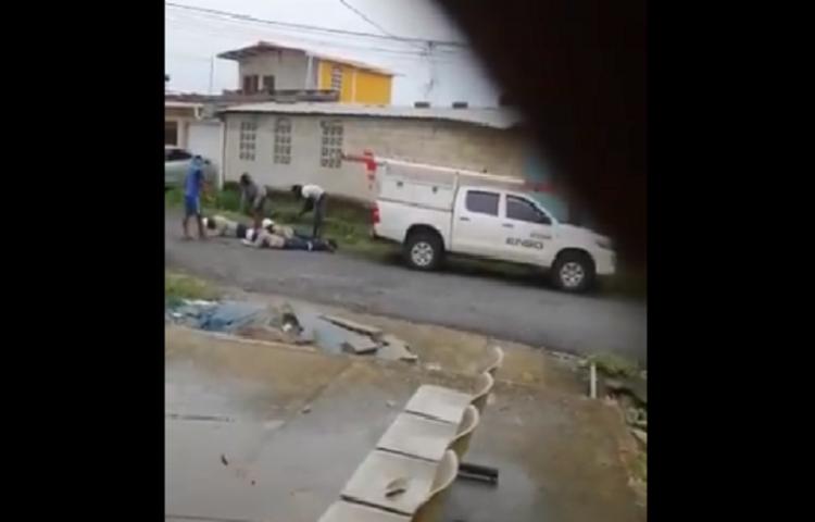 Menor detenido por delito de robo a trabajadores de empresa eléctrica