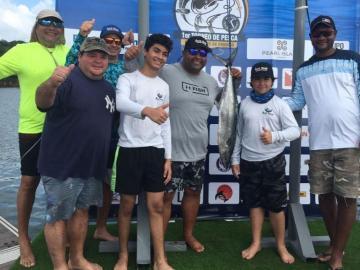 Aquilino Vallarinoconquistóel Primer Torneo de Pesca Deportiva